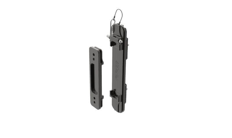 set 2 permanent backpack systeem met blokplaat