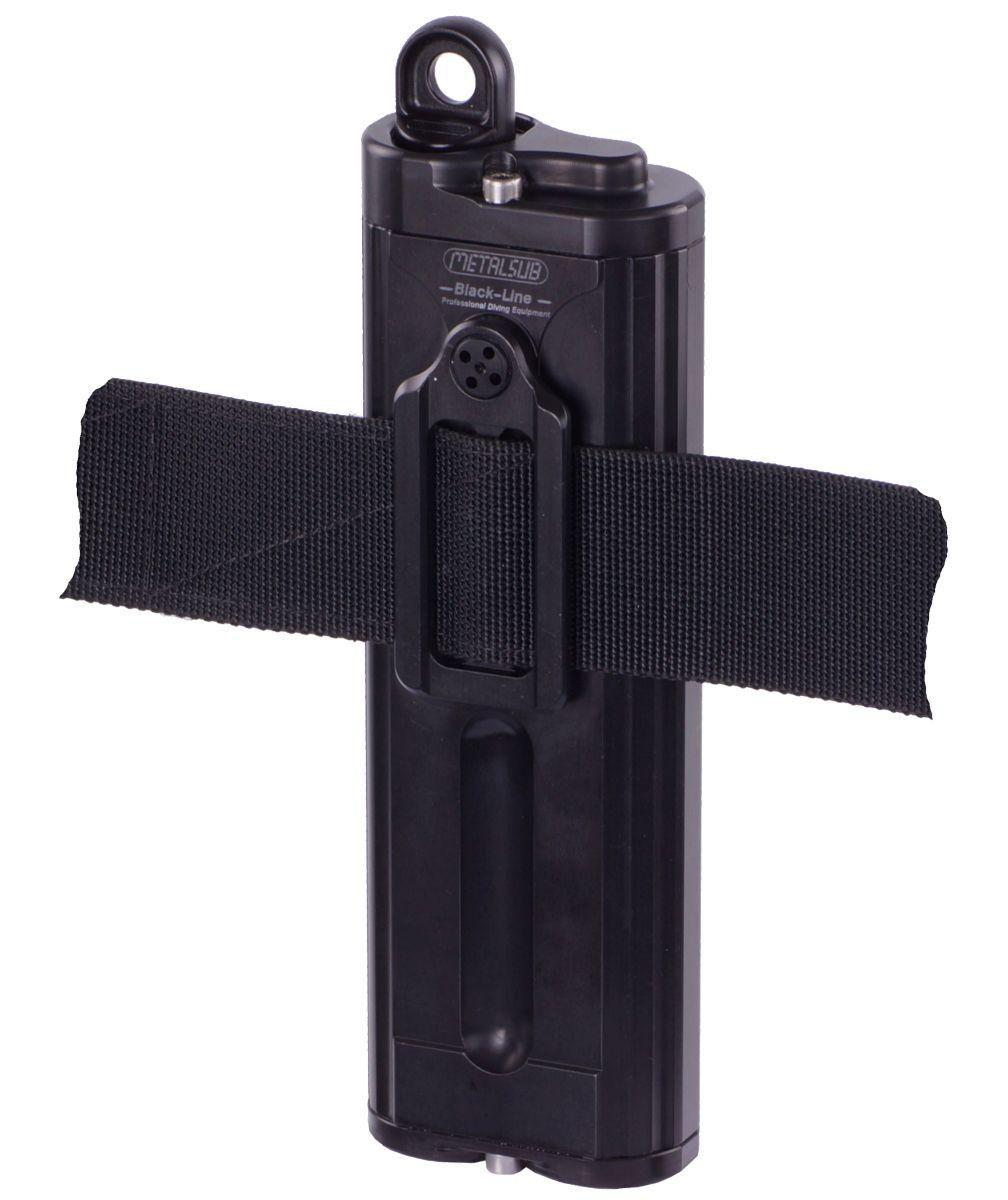 waist belt mount batterytank 4 ah black line