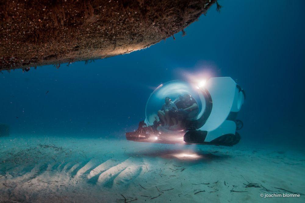 Explorer submarine verlichting